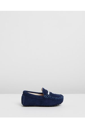 Oscars For Kids Milan Loafers Babies Kids - Dress Shoes (Navy Suede) Milan Loafers - Babies-Kids