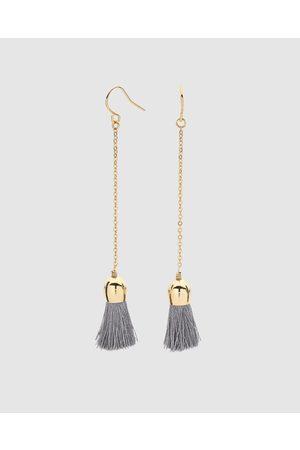 Dear Addison Candytuft Earrings - Jewellery (Charcoal) Candytuft Earrings
