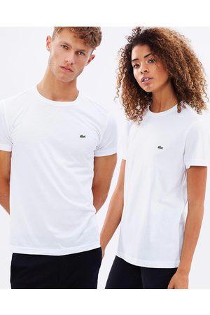 Lacoste Crew Neck Cotton Pima Tee - T-Shirts & Singlets Crew-Neck Cotton Pima Tee