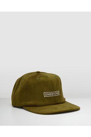ONEBYONE Caged Snapback - Hats (Khaki) Caged Snapback