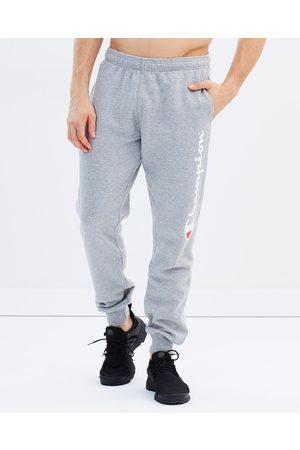 Champion Script Cuff Pants - Track Pants (Oxford Heather) Script Cuff Pants