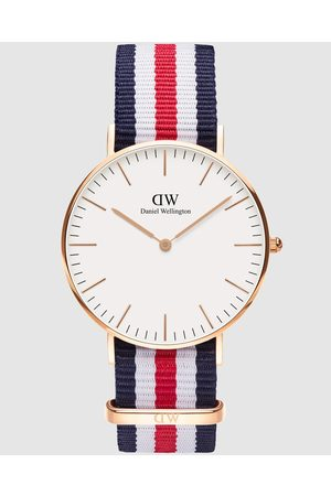 Daniel Wellington Classic Canterbury 36mm - Watches (Rose ) Classic Canterbury 36mm