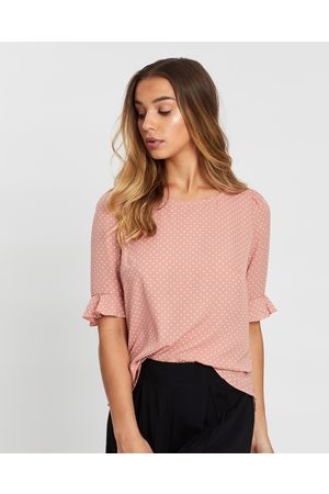 Atmos&Here Shelby Top - Tops ( & Cream Spot) Shelby Top