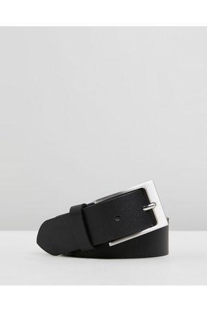 Double Oak Mills Split Leather 35mm Belt - Belts Split Leather 35mm Belt