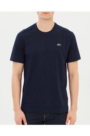 Lacoste Basic Crew Neck Sport Tee - T-Shirts & Singlets (Navy ) Basic Crew Neck Sport Tee