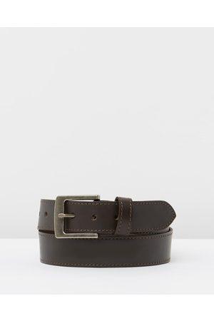 Loop Leather Co Work Tuff - Belts (Chocolate) Work Tuff
