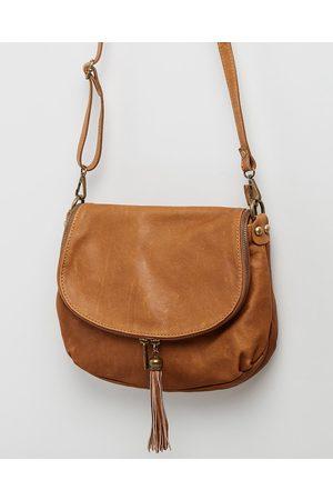 BEE Vasarino - Handbags (Tan) Vasarino