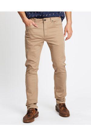 Tarocash Men Chinos - Ultimate Slim Chino - Pants (SAND) Ultimate Slim Chino