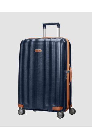 Samsonite Lite Cube DLX 76cm Spinner - Travel and Luggage (Midnight ) Lite-Cube DLX 76cm Spinner