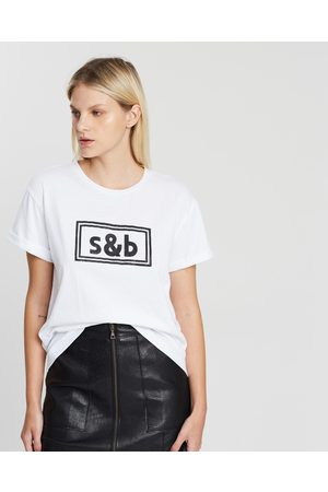 Sass & Bide The New Brave Tee - T-Shirts & Singlets (Ivory) The New Brave Tee