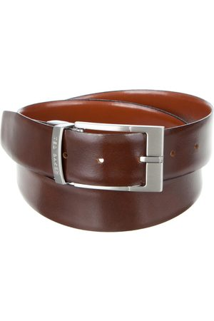 Ted Baker Connary Reversible Leather Belt - Belts (Tan) Connary Reversible Leather Belt