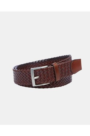 Buckle Mossman 35mm Plaited Belt - Belts Mossman 35mm Plaited Belt