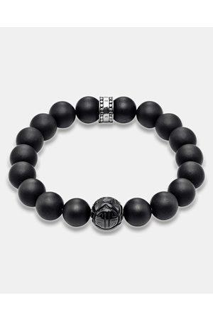 Thomas Sabo Bracelets - Matt Obsidian Bead Bracelet - Jewellery Matt Obsidian Bead Bracelet