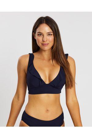 Sea Level Australia Women Bikinis - Frill Bra Top - Bikini Tops (Night Sky) Frill Bra Top
