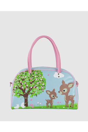 Bobbleart Large Bowling Bag Woodland Animals - Bags (Light ) Large Bowling Bag Woodland Animals