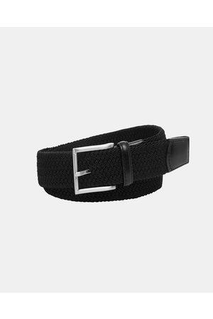 Buckle Crew 35mm Plaited Belt - Belts Crew 35mm Plaited Belt