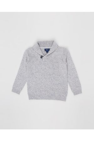 Pappe Dornie Roll Neck Sweater Babies Kids - Jumpers & Cardigans (Speckled Marle) Dornie Roll Neck Sweater - Babies-Kids