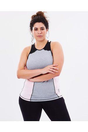 Curvy Chic Sports Tempo Tank - T-Shirts & Singlets (Blush) Tempo Tank