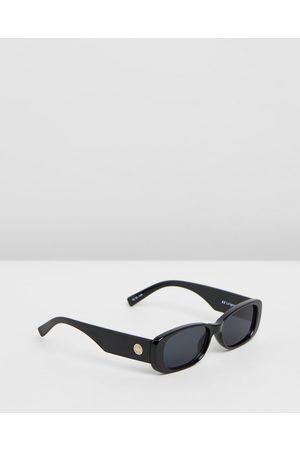 Le Specs Women Sunglasses - Unreal - Sunglasses (Shiny & Smoke Mono) Unreal