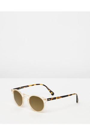 Oliver Peoples Sunglasses - Gregory Peck Sun - Sunglasses (Honey & Mirror MG) Gregory Peck Sun