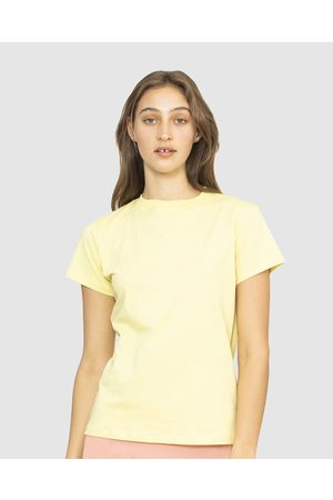 NICO Plant Dyed Organic Cotton Tee - T-Shirts & Singlets (Lemon) Plant Dyed Organic Cotton Tee