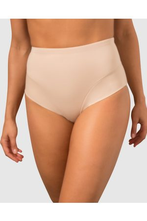 Miraclesuit Sheer Shaping Waist Line Briefs - Lingerie (Nude) Sheer Shaping Waist Line Briefs
