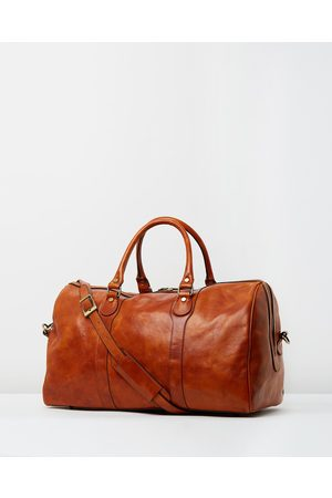 Republic of Florence Men Travel Bags - Beltrami Weekender - Duffle Bags (Tan) Beltrami Weekender