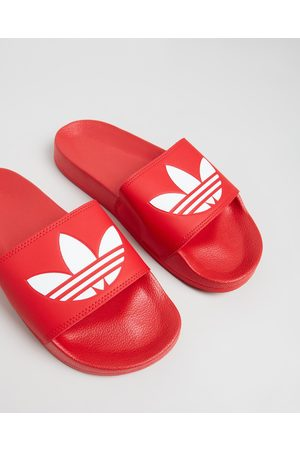 adidas Adilette Lite Unisex - Slides (Scarlet & Footwear ) Adilette Lite - Unisex
