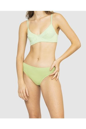 NICO Plant Dyed Organic Cotton Hipster Briefs - Lingerie (Sage) Plant Dyed Organic Cotton Hipster Briefs