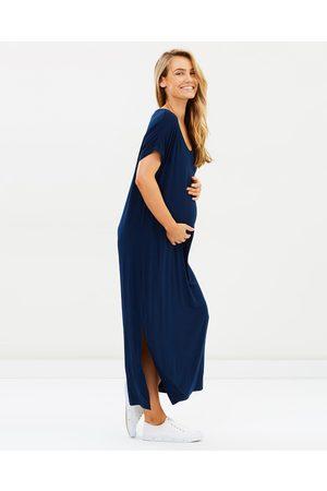 Bamboo Body Elsie Dress - Dresses (Navy) Elsie Dress