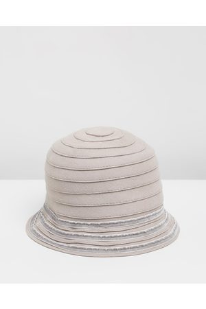 Max Alexander Wool Felt Bucket Hat - Hats Wool Felt Bucket Hat