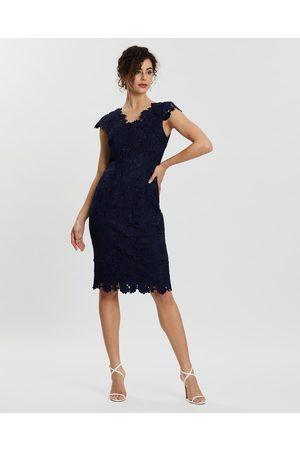 Review Trina Dress - Dresses (Navy) Trina Dress
