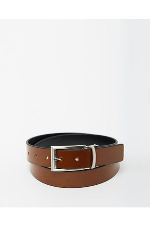 Loop Leather Co Sandwich Guy Reversible - Belts (Tan & ) Sandwich Guy Reversible