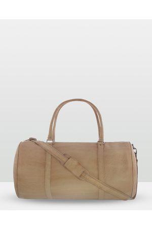 Cobb & Co Cobram Soft Leather Duffle Bag - Satchels (CAMEL) Cobram Soft Leather Duffle Bag