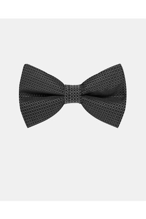 Buckle Grid Bow Tie - Ties & Cufflinks Grid Bow Tie
