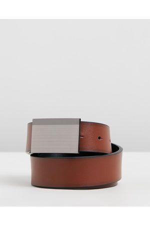 Yd. Riley Reversible Dress Belt - Belts Riley Reversible Dress Belt