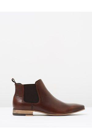 Tarocash New Acton Gusset Boots - Dress Shoes (CHOCOLATE) New Acton Gusset Boots