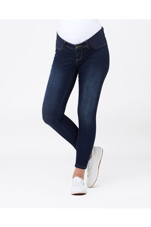 Ripe Maternity Isla Ankle Grazer Jeggings - Jeans (Indigo) Isla Ankle Grazer Jeggings