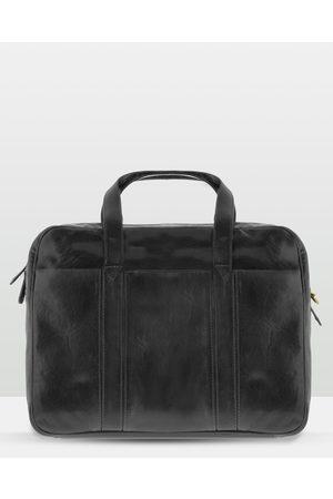 Cobb & Co Kemp Leather Laptop Bag - Satchels Kemp Leather Laptop Bag