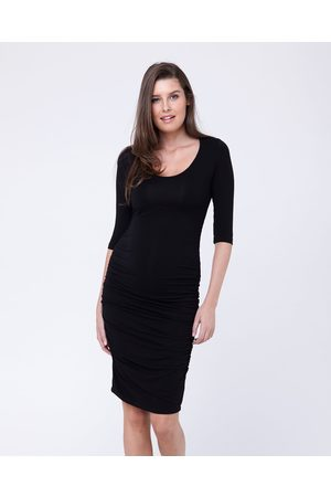 Ripe Maternity Cocoon Elbow Sleeve Dress - Bodycon Dresses Cocoon Elbow Sleeve Dress