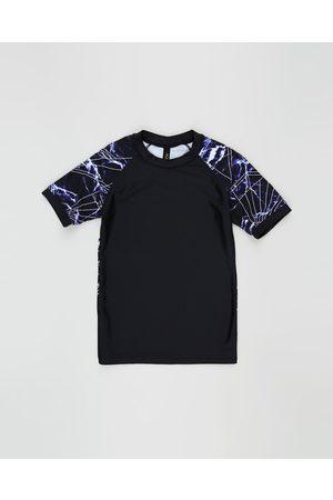 Aqua Blu Onyx Short Sleeve Rash Vest Teen - Swimwear Onyx Short Sleeve Rash Vest - Teen