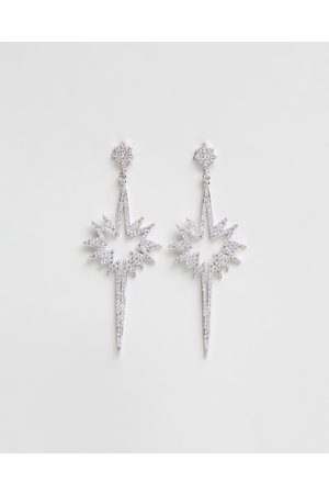 Stephanie Browne Love Comet Earrings - Jewellery (Rhodium) Love Comet Earrings