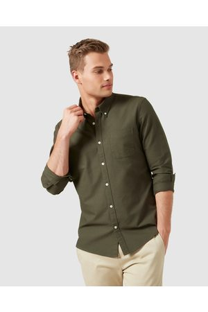 French Connection Oxford Regular Fit Shirt - Casual shirts (MILITARY ) Oxford Regular Fit Shirt
