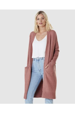 Everly Collective Toronto Long Cardigan - Jumpers & Cardigans (Spice) Toronto Long Cardigan