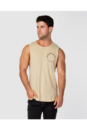 ONEBYONE Roots Tank - Muscle Tops (Sand) Roots Tank