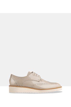 HABBOT Women Loafers - Ormond Platform Lace Ups - Flats Ormond Platform Lace-Ups