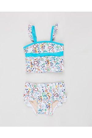 Aqua Blu Woodlands Frill Tankini Set Babies - Bikini Set (Woodlands) Woodlands Frill Tankini Set - Babies