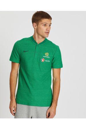 Nike Socceroos 2018 19 Polo Shirt - Shirts & Polos Socceroos 2018-19 Polo Shirt