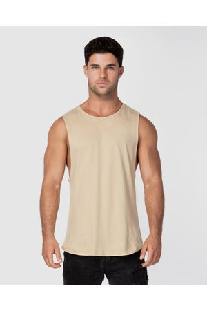 ONEBYONE Classic Blank Tank - Muscle Tops (Sand) Classic Blank Tank