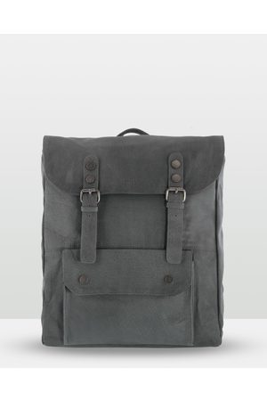 Cobb & Co Wentworth Soft Leather Backpack - Bags (Charcoal) Wentworth Soft Leather Backpack